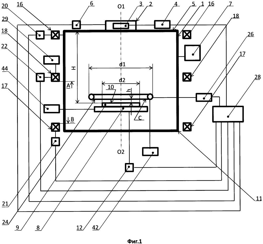 Реактор для плазменной обработки полупроводниковых структур