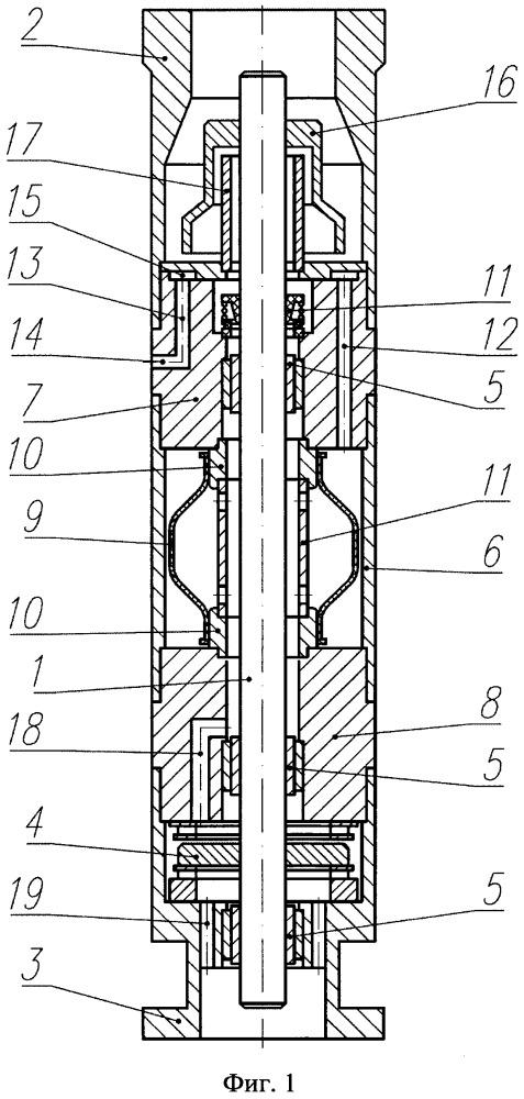 Устройство для гидравлической защиты погружного маслозаполненного электродвигателя (варианты)