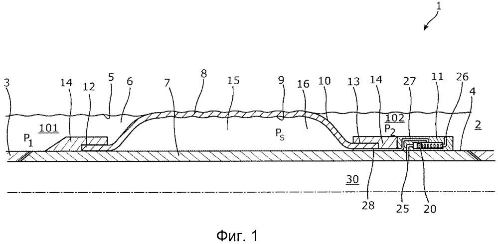 Затрубный барьер с модулем предотвращения сжатия