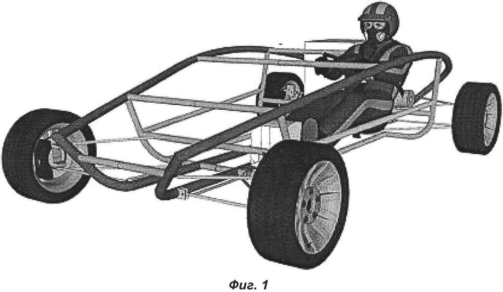 Несущий кузов транспортного средства
