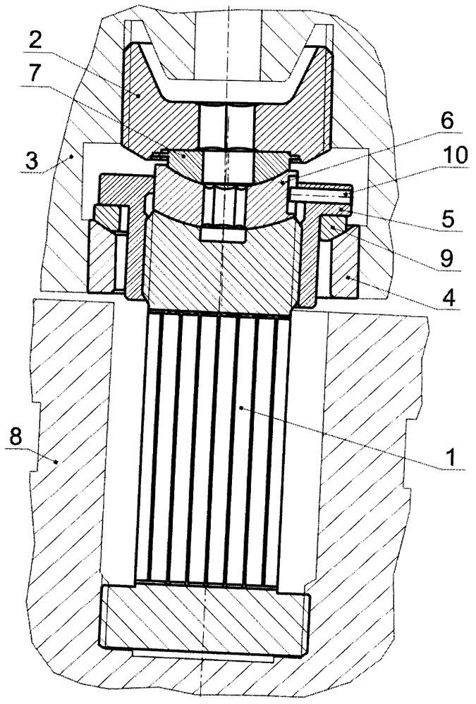 Устройство для крепления модуля бланкета на вакуумном корпусе термоядерного реактора
