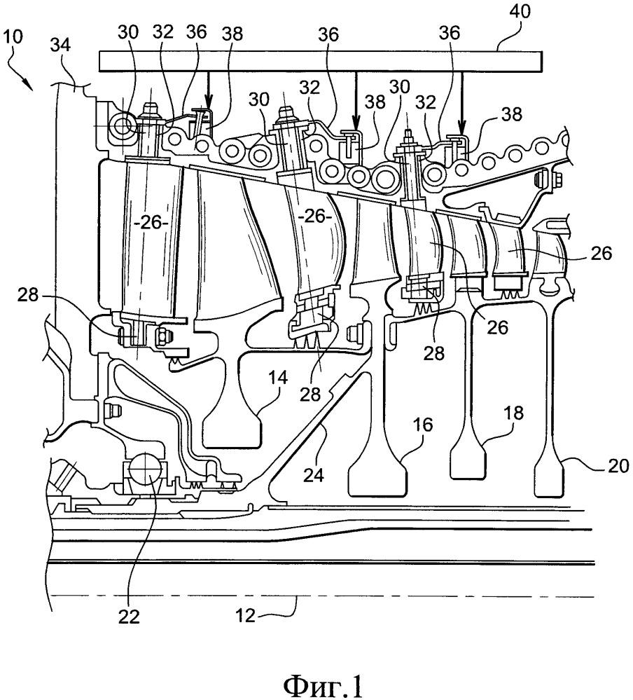 Компрессор газотурбинного двигателя, в частности турбовинтового или турбовентиляторного двигателя самолета