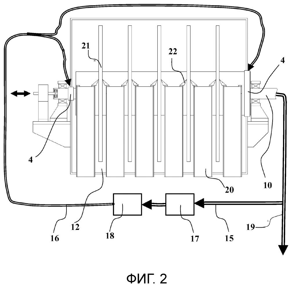 Способ подачи уплотняющей среды в фильтр щелока и фильтр щелока