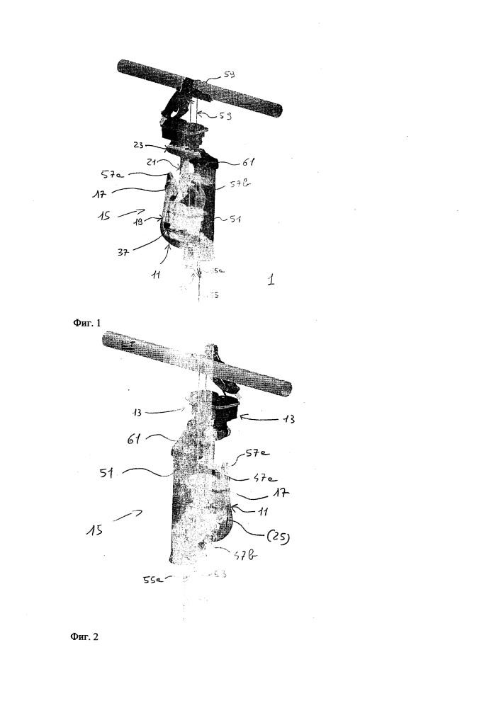 Конструкция мобильного доильного устройства и одна из составных частей данного устройства