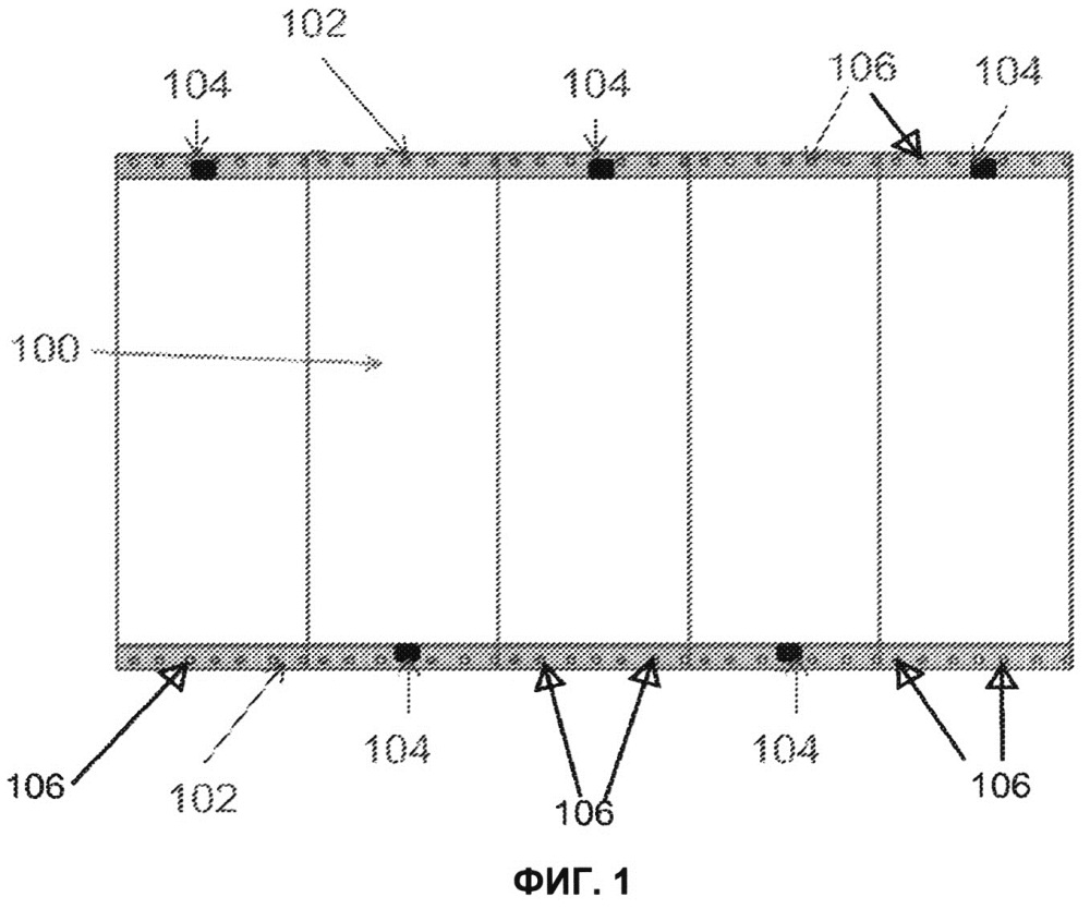 Система и способ сообщения экранам вибрации для понижения уровня спеклов