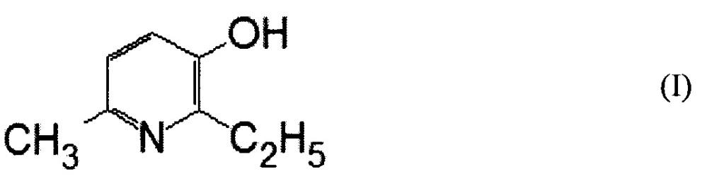 Интраназальная фармацевтическая композиция 2-этил-6-метил-3-оксипиридина
