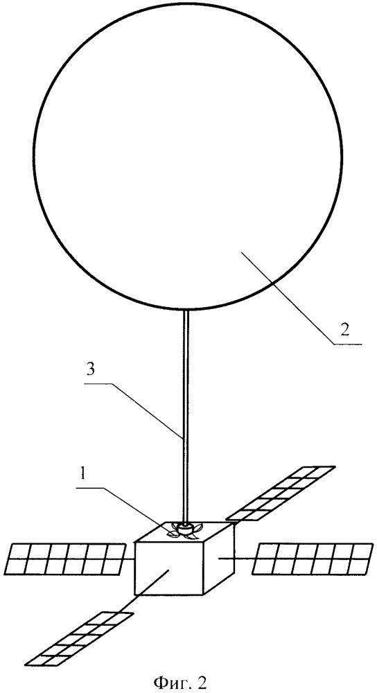 Устройство аэродинамического торможения космического аппарата