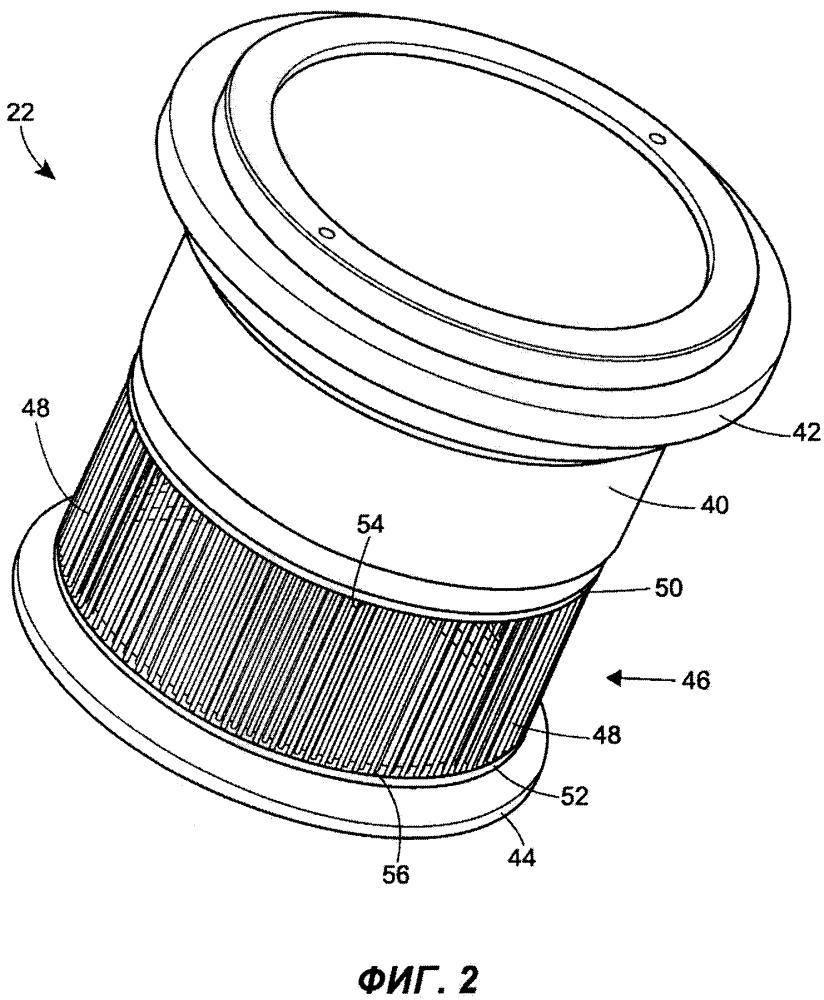 Клетка затвора регулирующего клапана, имеющая множество антикавитационных или снижающих шум стержней