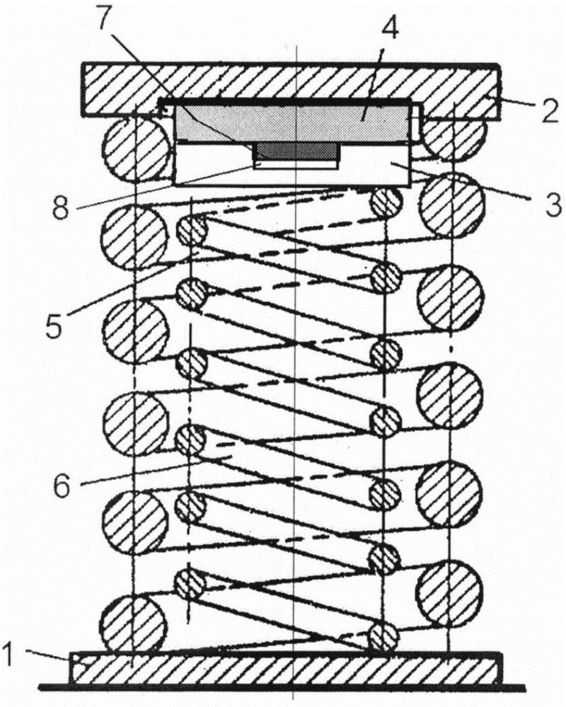Встроенный пружинный демпфер