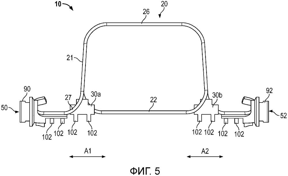 Устройство и способ для уменьшения напряжения паяного соединения в вибрационном расходомере