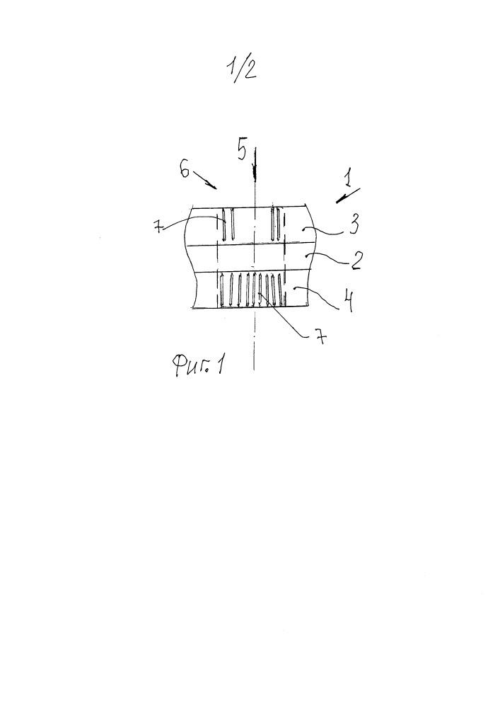Способ получения нитевидных нанокристаллов (нановискеров) в теле листового материала