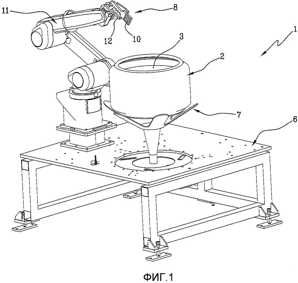 Способ и установка для поверхностной обработки невулканизированных шин