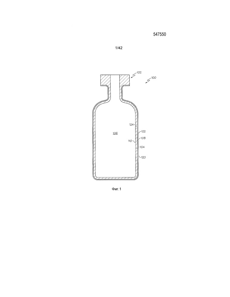 Покрытая фармацевтическая упаковка (варианты)