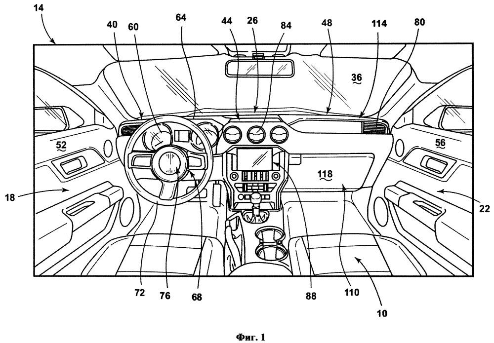 Панель приборов для транспортного средства
