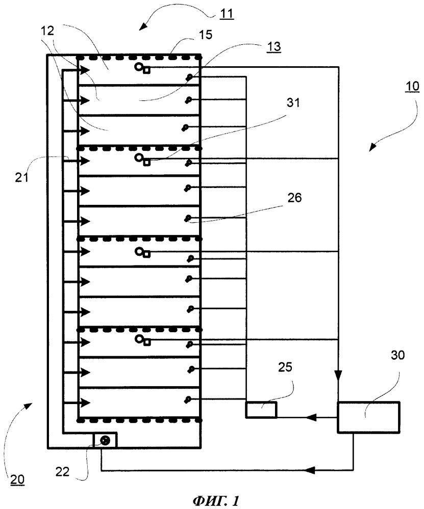 Устройство и способ выдержки бетонных изделий