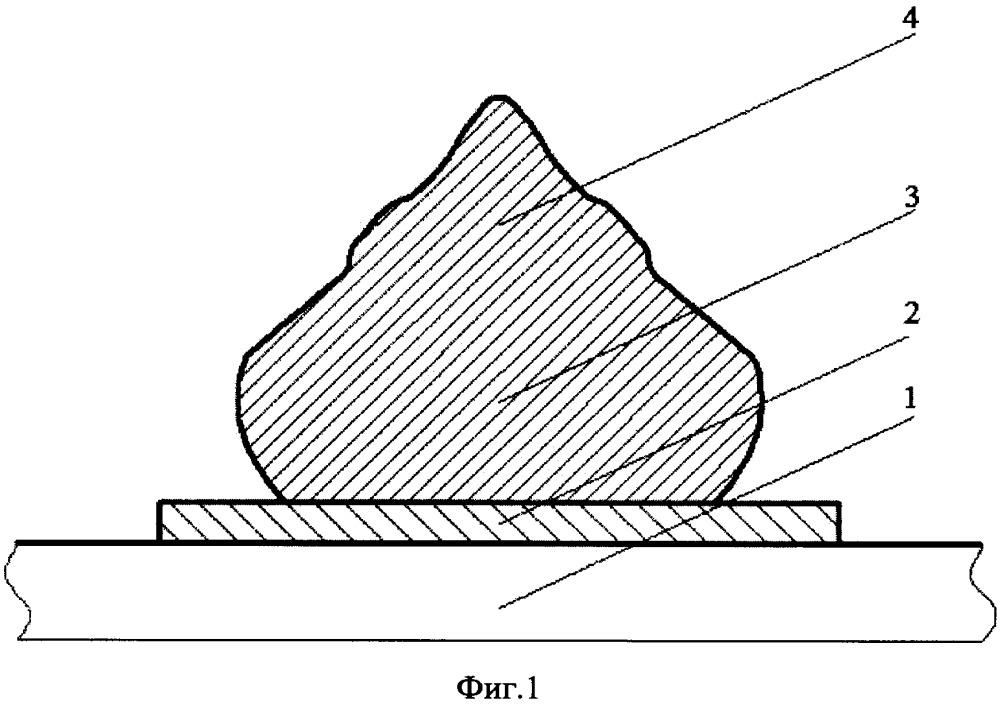Способ формирования шариковых выводов на алюминиевой металлизации контактных площадок кристалла