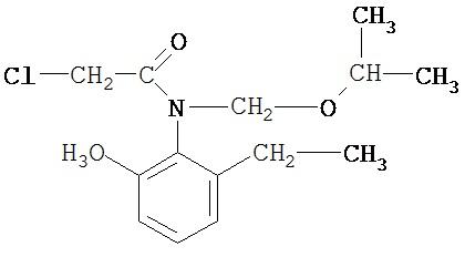 Двухкомпонентное гербицидное средство