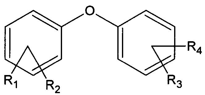Способ получения динитропроизводных дифениловых и трифениловых эфиров