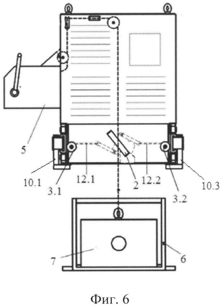 Подъемное устройство выносного оборудования
