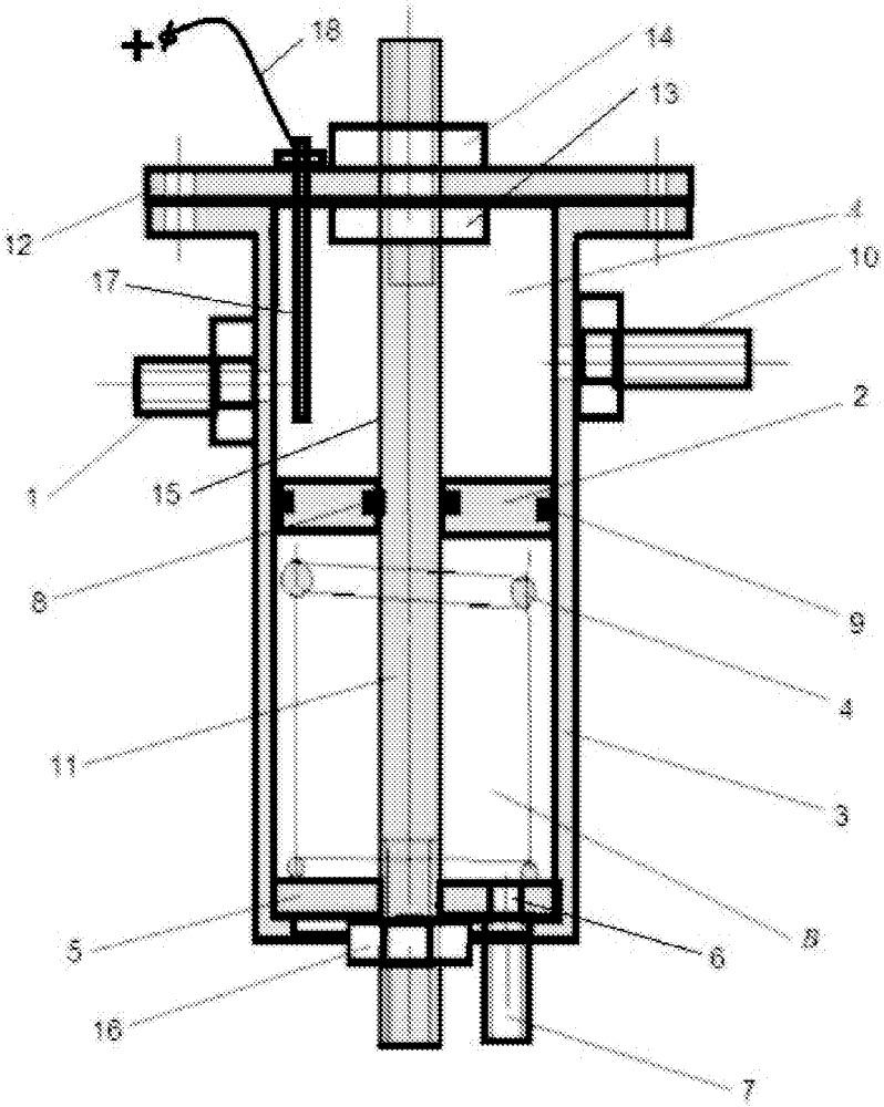 Теплообменный аппарат с саморегулируемой площадью поверхности нагрева