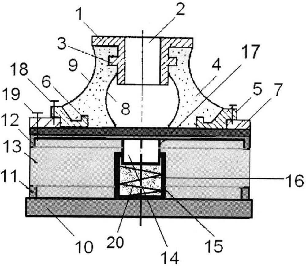 Резиновый виброизолятор