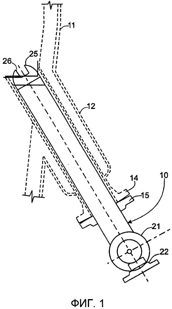Узел распылительной форсунки с высоким кпд/низким давлением для каталитического крекинга