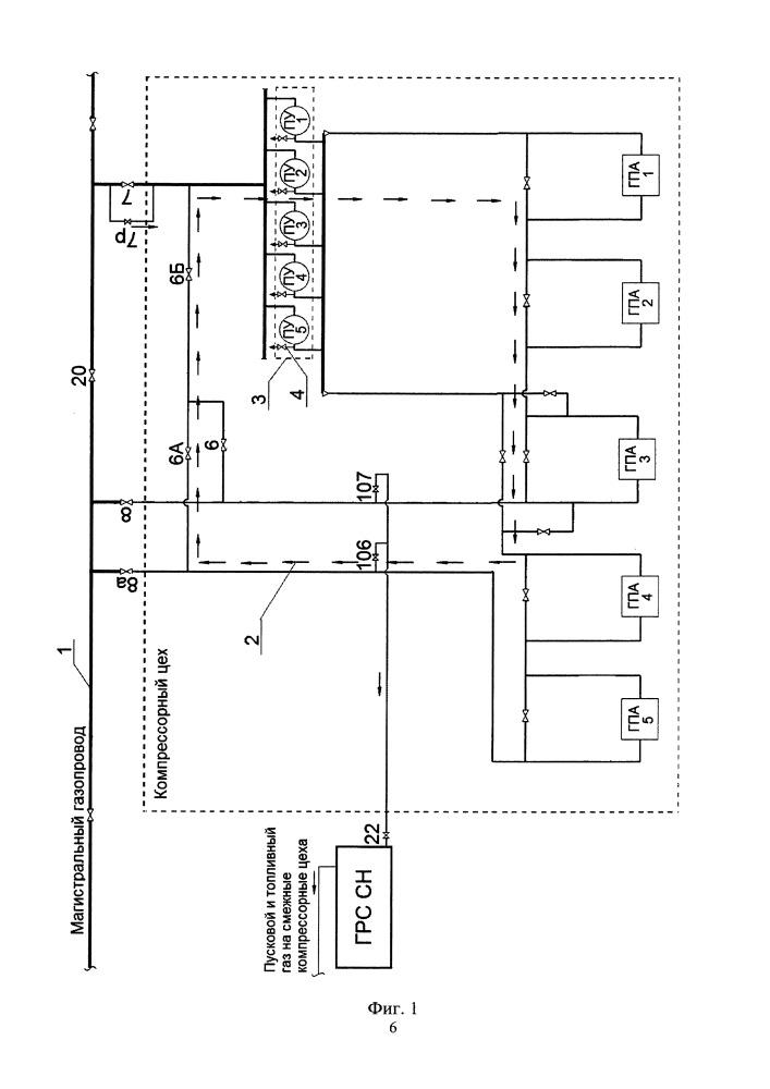 Способ осушки технологических трубопроводов компрессорного цеха