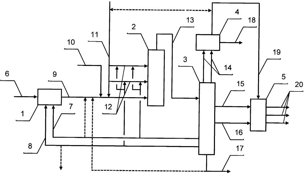 Установка гидропереработки остаточных нефтяных фракций