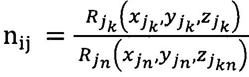 Мультипликативный разностно-относительный способ двухмобильного определения координат местоположения источника радиоизлучения