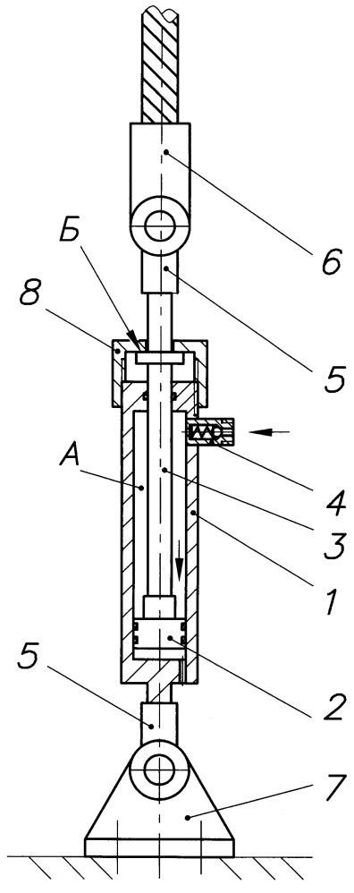 Конструкция талрепа гидравлического