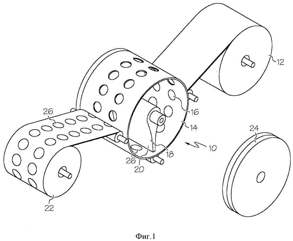 Способ ротационной печати для нанесения магнитных составов