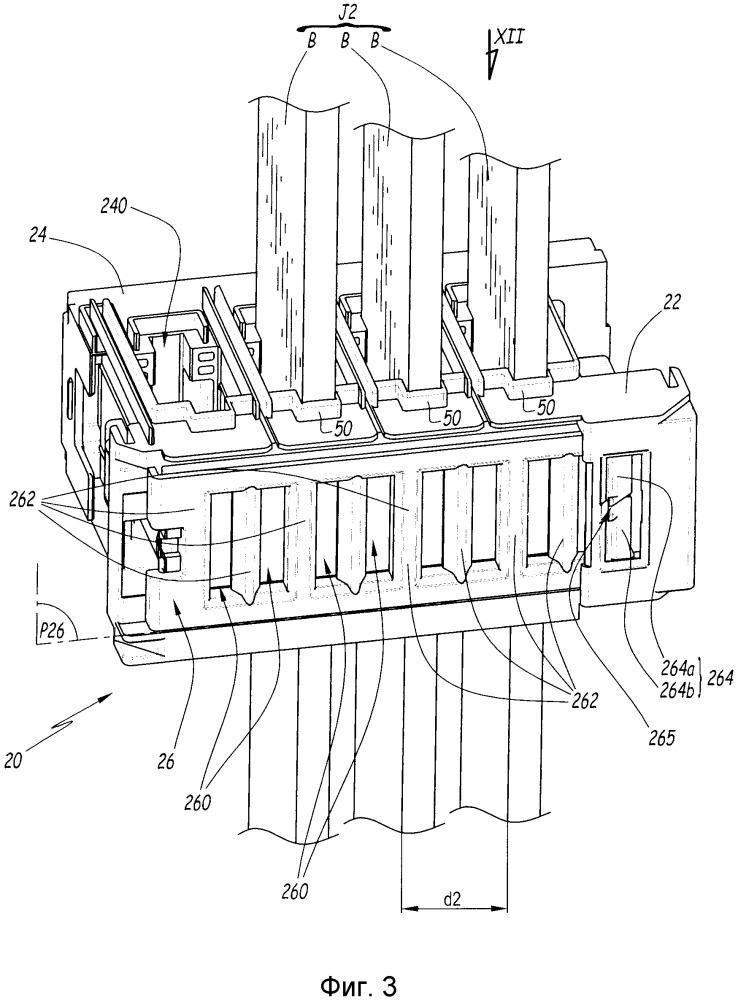 Устройство позиционирования выдвижных ящиков электрощита, электрощит, содержащий одно такое устройство, и способ монтажа этого устройства