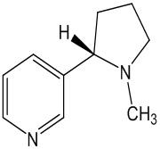 Раствор, содержащий никотин в непротонированной форме и протонированной форме