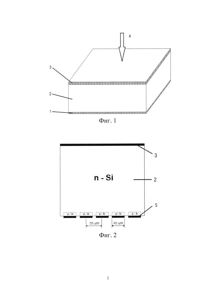 Планарный полупроводниковый детектор