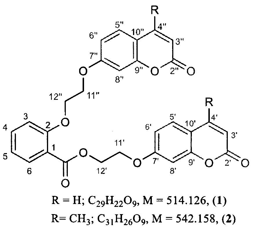 Гибридные кумарины, обладающие непрямым антикоагулянтным действием
