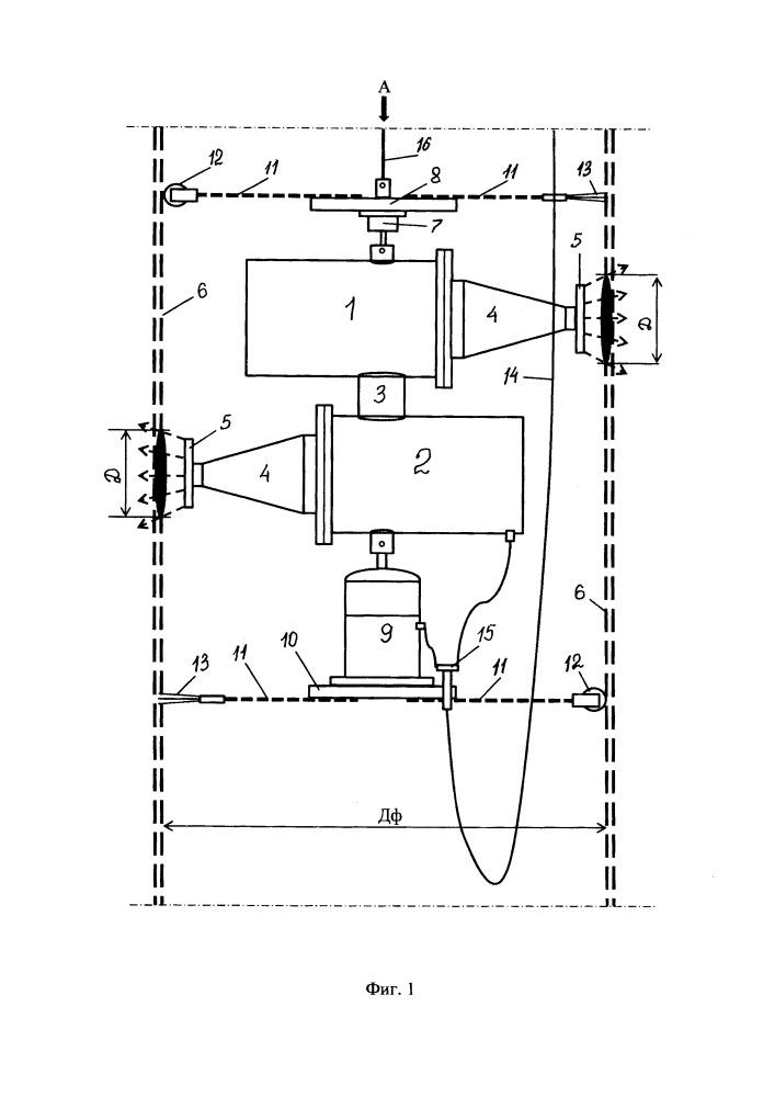 Устройство акустического излучателя для регулярной очистки скважинного фильтра