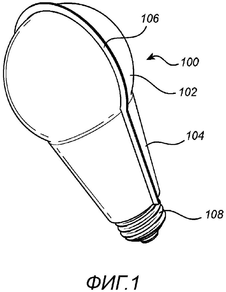 Световое устройство со складным корпусом