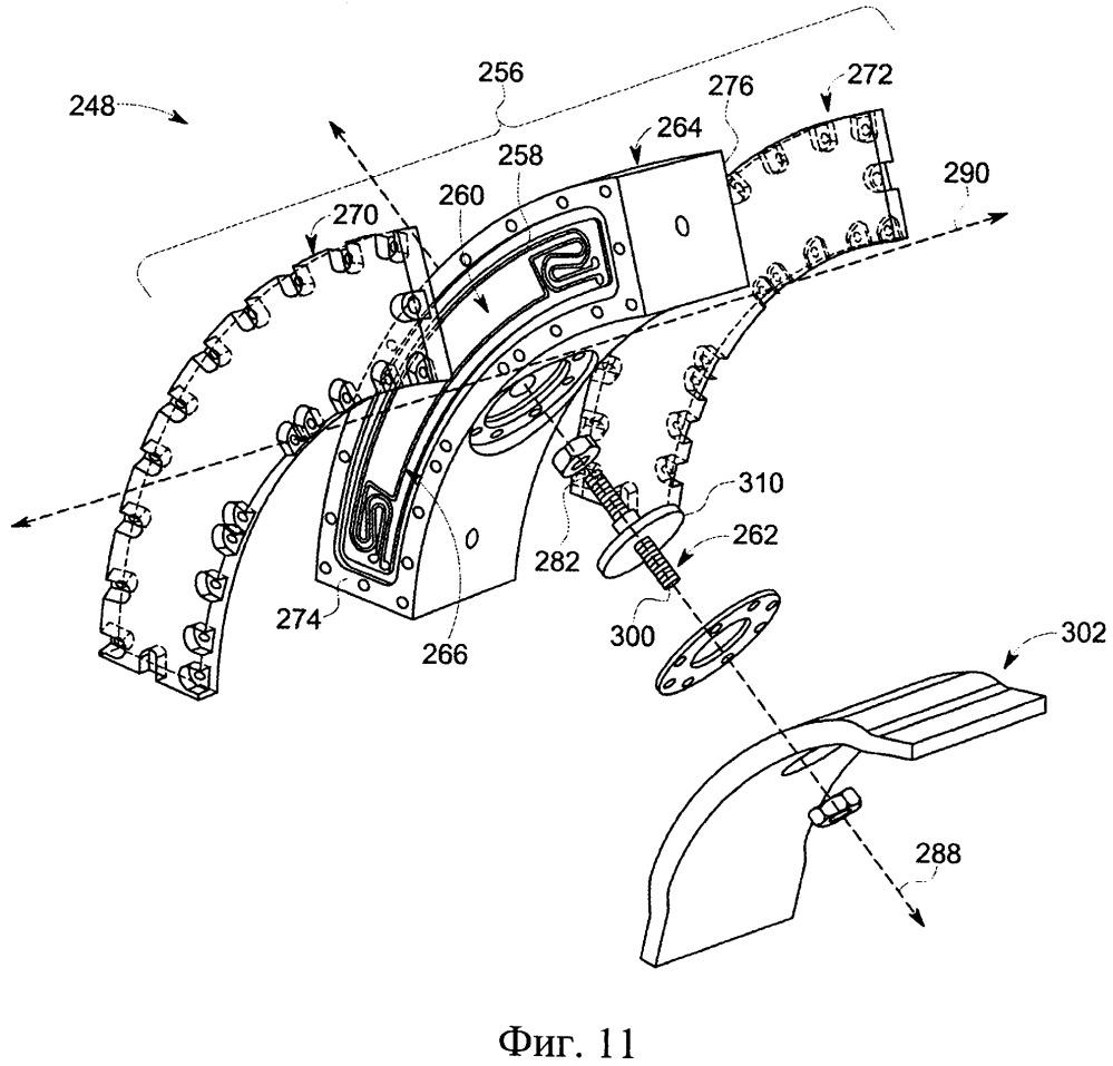 Радиально-подшипниковый узел, турбомашина и способ сборки упомянутого радиально-подшипникового узла