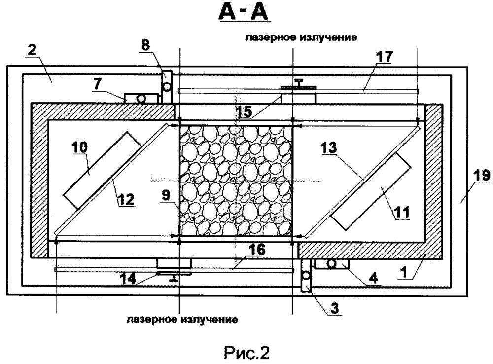 Устройство для определения физико-механических характеристик строительных материалов