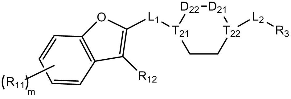 Аналог бензофурана в качестве ингибитора ns4b