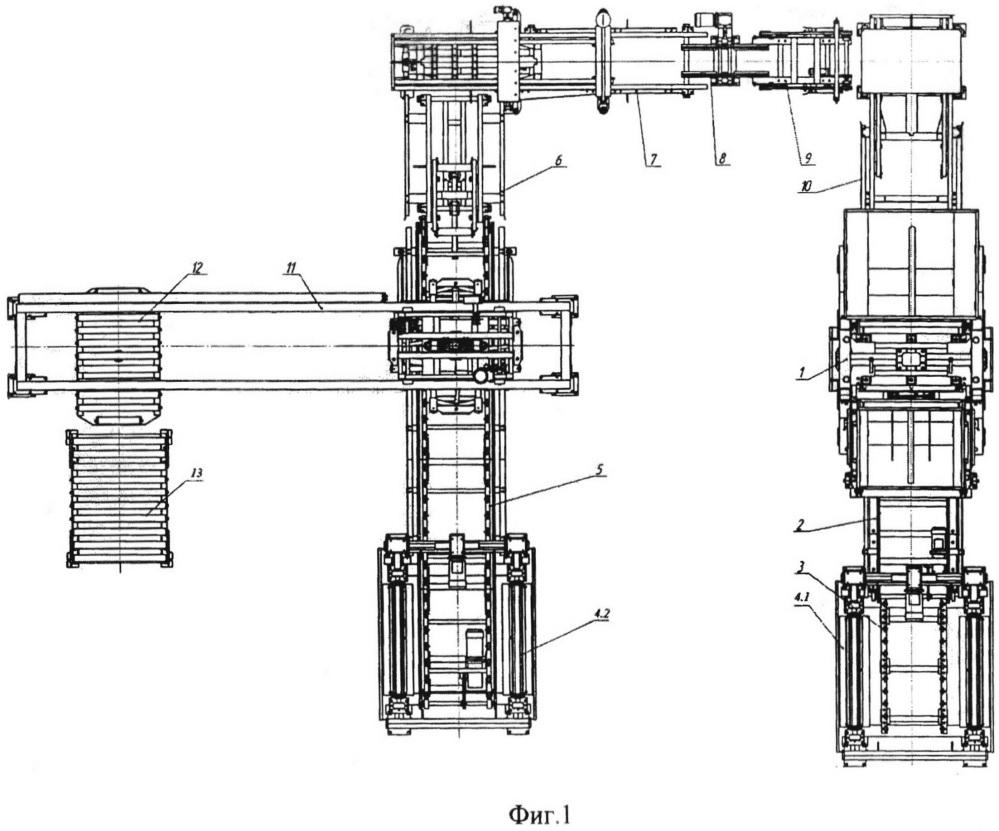 Автоматизированная линия для производства изделий строительных бетонных