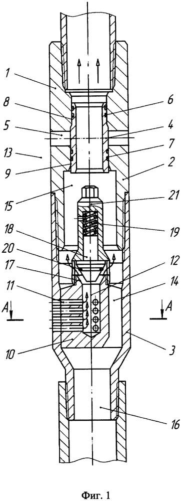 Переливной клапан бурильной колонны