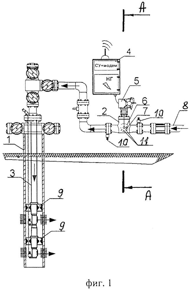 Способ разработки нефтяной залежи на неустановившемся циклическом режиме закачки и устройство для его осуществления