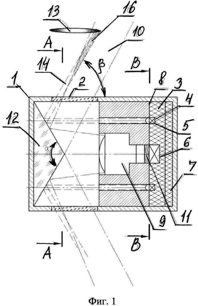 Оптическое устройство обнаружения объектов