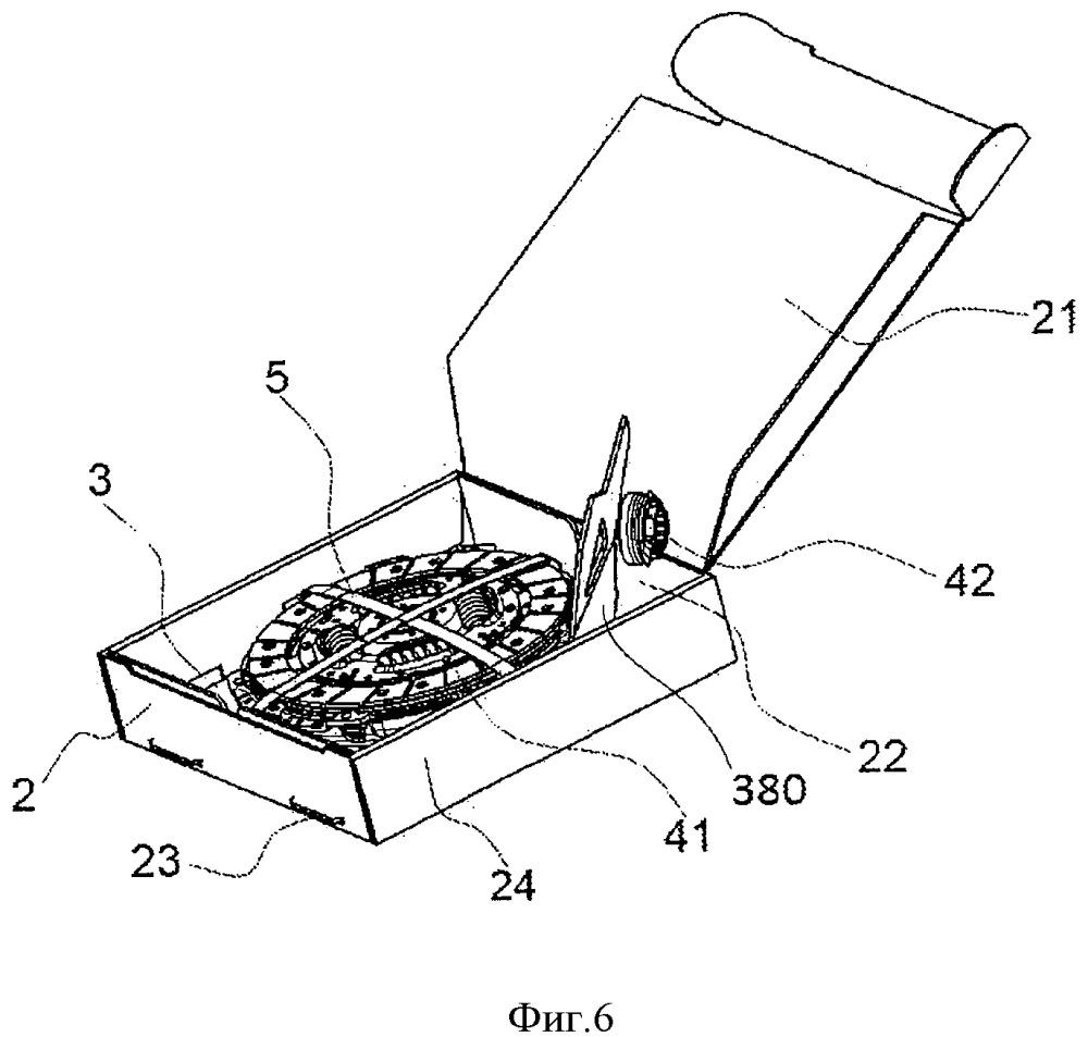 Устройство упаковки для устройства сцепления