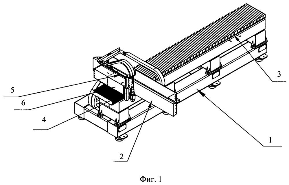 Станок для лазерной обработки изделий