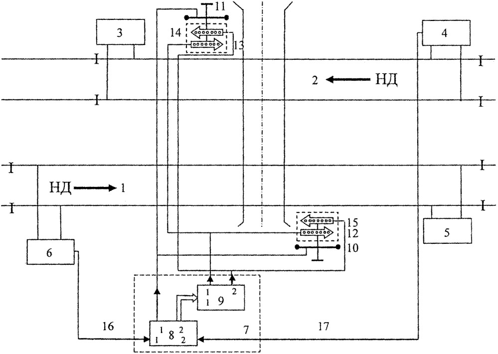 Автоматическая предупредительно-оповестительная система переездной железнодорожной сигнализации