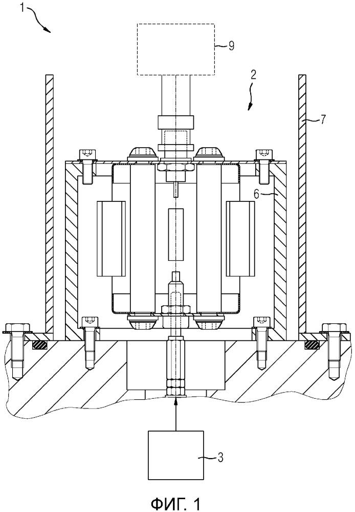 Коаксиальная конструкция для вспомогательного блока