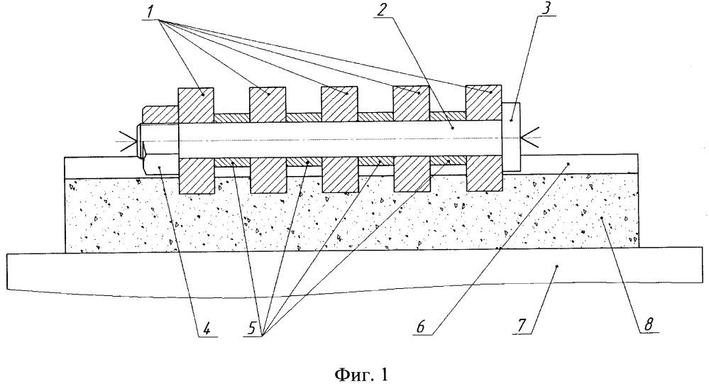 Устройство для сравнительных ускоренных испытаний материалов с различными свойствами на стойкость к абразивному изнашиванию в не жестко закрепленном абразиве