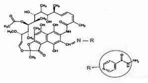 Противотуберкулезная композиция, содержащая рифампицин, изониазид, этамбутол и пиразинамид, и способ ее получения